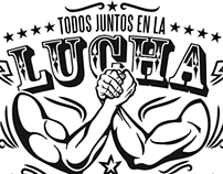 """Propuesta camisetas """"Todos en la lucha contra la trata"""""""