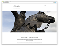 Colin Spofforth website and identity