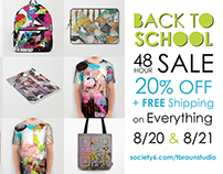 Back To SCHOOL SALE 8/20/17 & 8/21/17