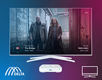 Delta Television IPTV app