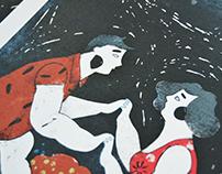 São João Festival Illustration