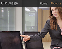 CTR Design - Web Site Concept