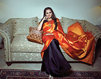Jayaprada Business Cover Shoot
