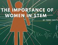 The Importance of Women in STEM by Terri Wattawa