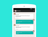 Chat App Design & Development.