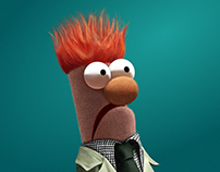 Beaker - Digital Illustration