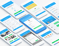 Workbase - Mobile UI/UX App Design