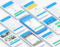 Workbase - Mobile UI/UX App Design