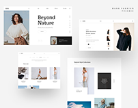MI Fashion - Free Sketch App Template