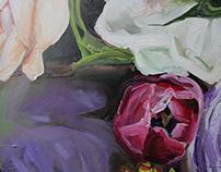 Canvas painting | Fleurs