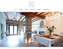 Diseño de landing page para casa rural en Navarra
