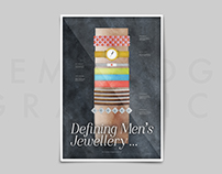 Defining Men's Jewellery |Information Graphic