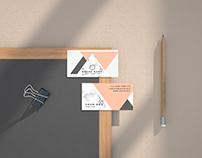Business Card Free Mockup Kit