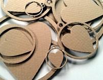 Cardboard harts / Serca z kartonu