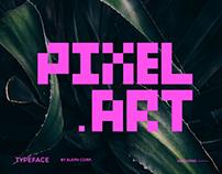 PIXEL ART Typeface