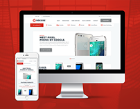 Rogers website redesign