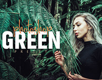 Green Preset for Ps & Lr