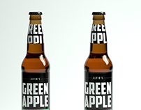 Alvin's Green Apple Cider