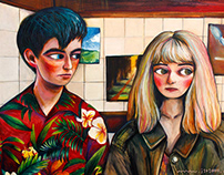 FAN ART : The End of the F***ing World