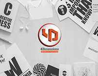4Dimensions Advertising Logo Design