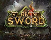 Flaming Sword - Logo Design