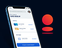 Bank Saint-Petesburg App Redesign Concept