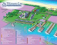 Resort and Marina Illustrated Map