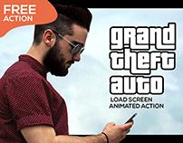 Free GTA V Load Screen Animated Action