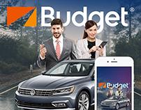 Budget Mobile App Design