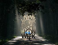 Typography New York fashion week 2019