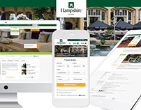 Hampshire Hotels - Responsive webdesign