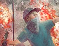 Cover art for single by МОРЭ&РЭЛЬСЫ ft. TRUBETSKOY