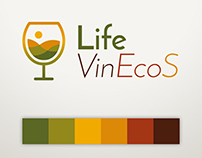 Corporate Design for a viniculture project