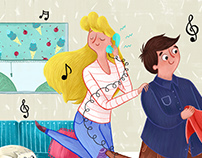 Children's Illustrated Poster