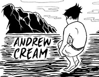 Andrew Cream T Shirt