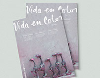 """Vida En Color"" Publication Design"