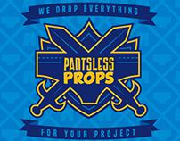 Pantsless Props Logo