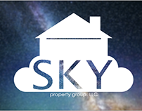 Logo and Business Card Design: SKY Property Group, LLC