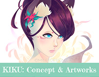 Kiku: Concept & Artworks