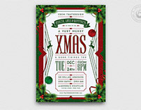 Christmas Eve Flyer Template V8