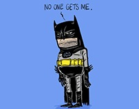 Sad Bat Man :(