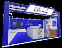 Bareno Booth 6mx3m