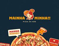 Mainha Minha!!   Pizza Branding