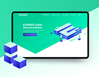 Element - digital insurance - UI/UX/Branding/Guidelines