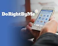 DoRightByMe Mobile App - Case Study