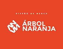 Diseño de merch para Árbol naranja