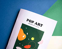 Editorial Design - Pop Art exhibition