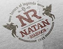 Разработка логотипа и слогана для таверны.