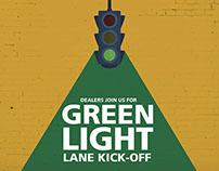 GREEN LIGHT LANE KICK OFF