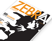 Zebra Magazine Cover